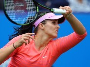 Laura Robson has won her opener at the Challenger Banque Nationale De Granby tournament in Canada