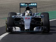 Lewis Hamilton topped the timesheets after final practice in Budapest (AP)