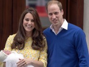 The Princess of Cambridge is being christened in Norfolk