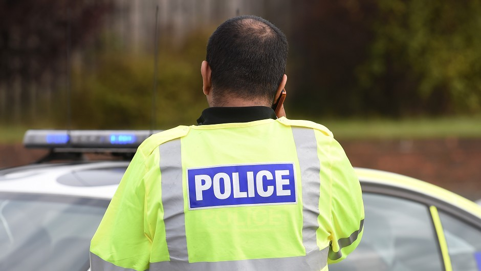 The crash took place on Harlaw Road, Inverurie