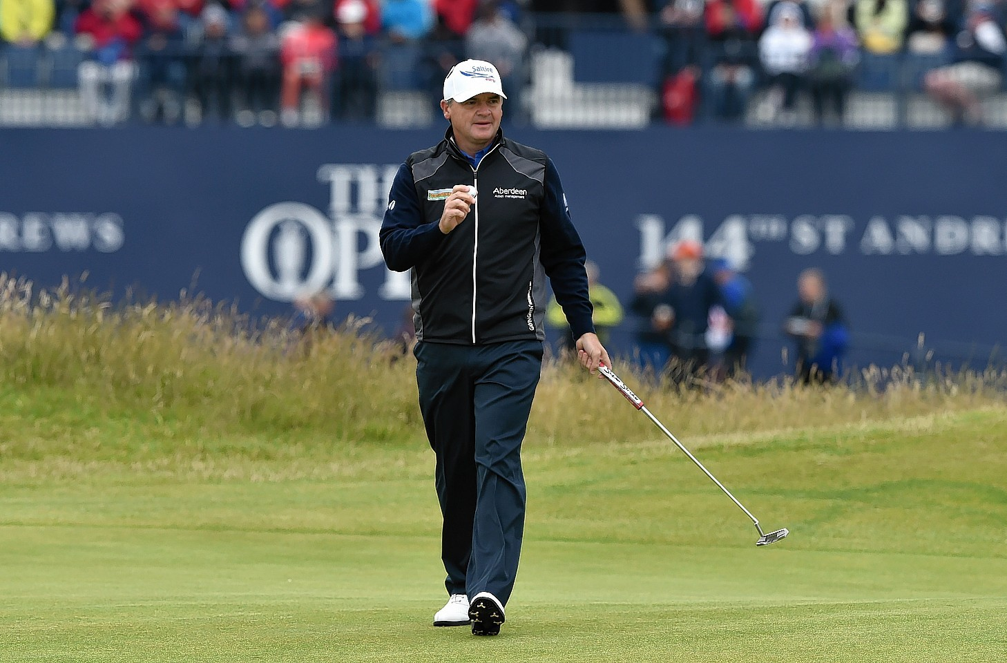 Scotland's Paul Lawrie during day four of The Open Championship 2015 at St Andrews