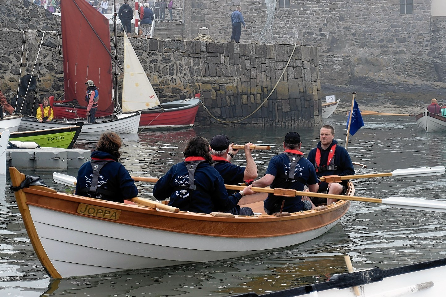 Locals feared the house would damage Portsoy Boat Festival.