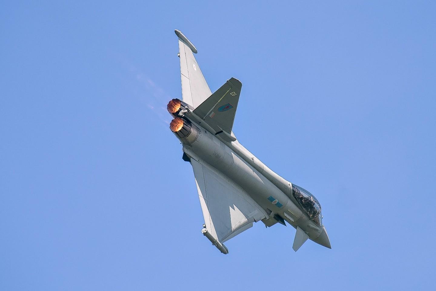 RAF Typhoon from RAF Lossiemouth