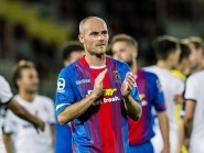 David Raven thanks the Caley Thistle fans at full time