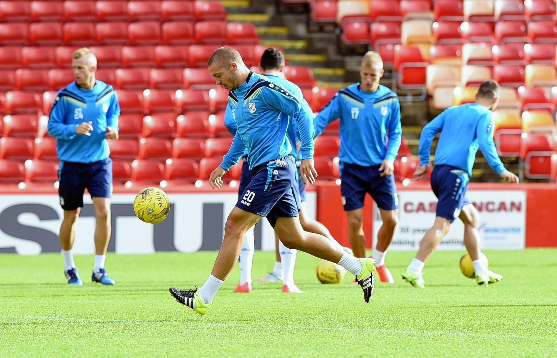 Aberdeen v Rijeka: Marin Tomasov in mood for upset