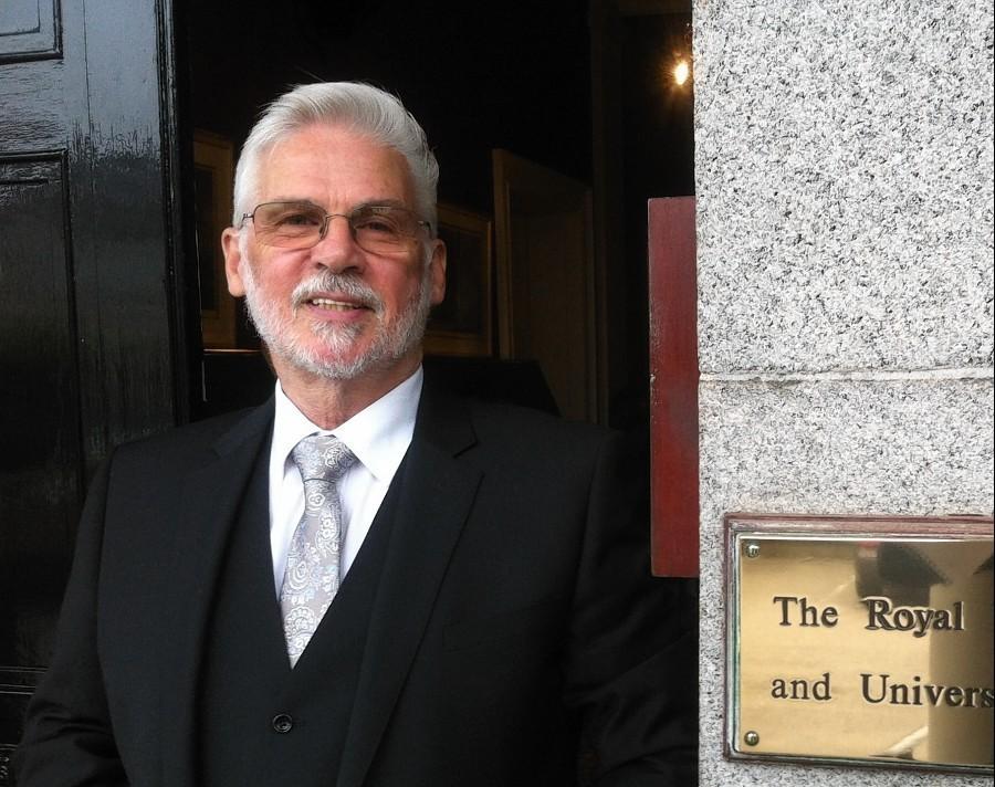The Royal Northern & University Club vice chairman Mel Keenan