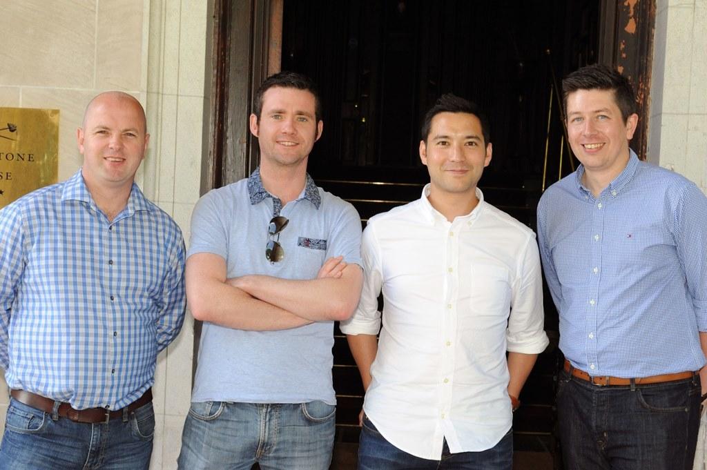 Scott McKenzie, Andrew Rogers, Simon Swainson, Gavin Sharp