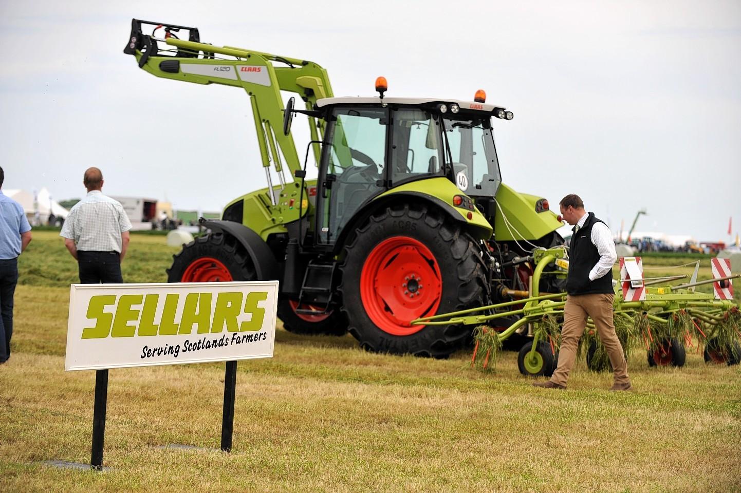 Sellars is the main Claas dealer in Scotland