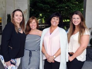 Sian Robertson, Mandy McColl, Karen Law and Victorial Gray