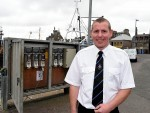 Harbour superintendent John Murison