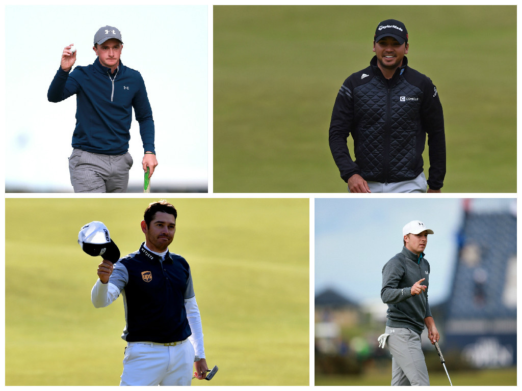Paul Dunne, Louis Oosthuizen and Jason Day are tied for the lead but Jordan Spieth is not far away.