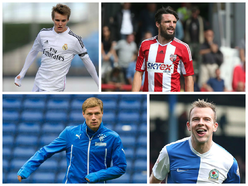 Odegaard, Douglas, Zaliukas and Rhodes have all been linked with moves today
