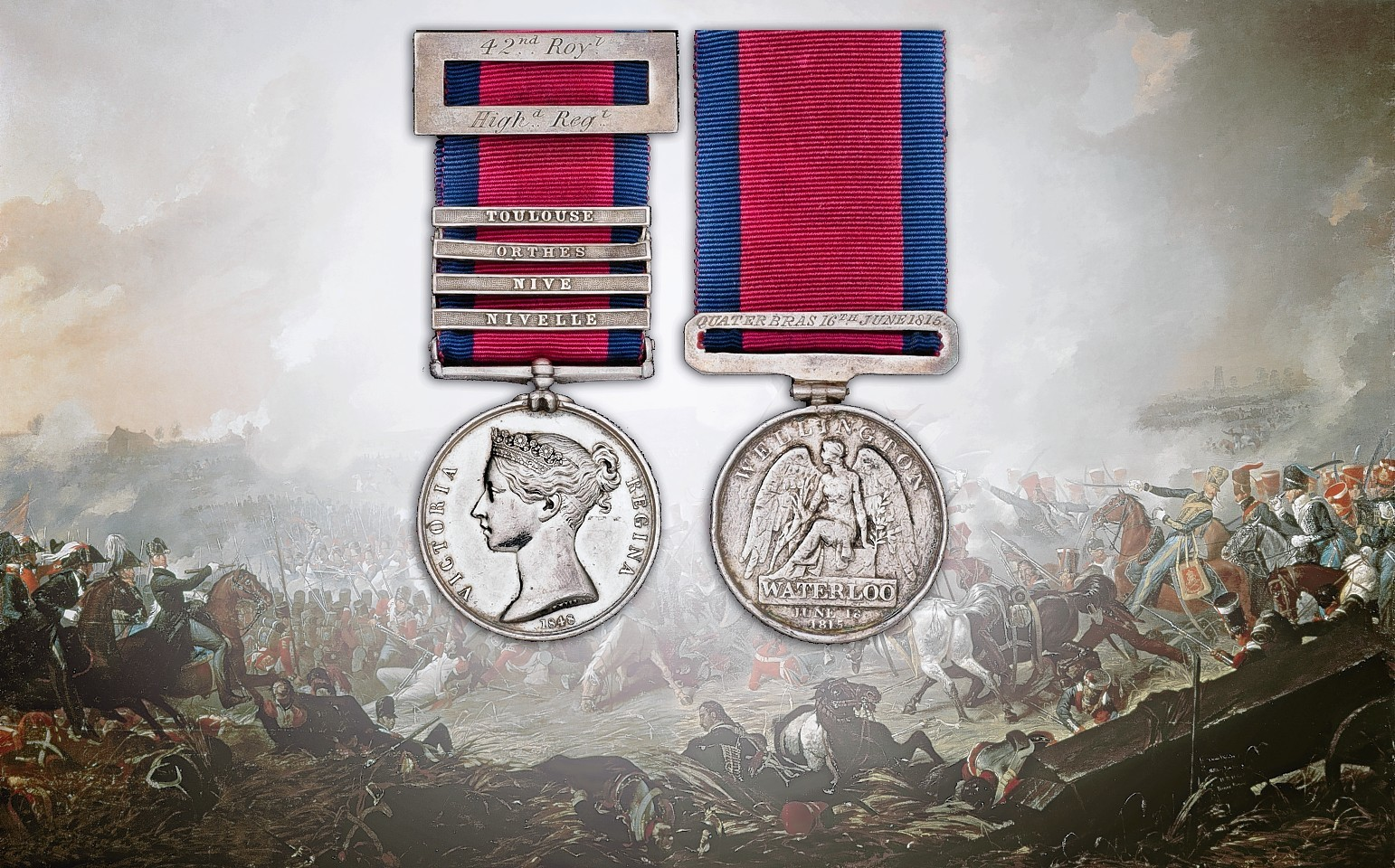Wiliam Bowman's medals