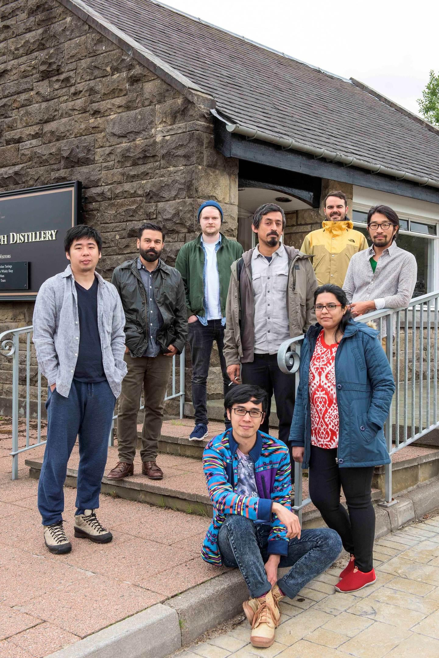 Speyside malthouse inspires international artists