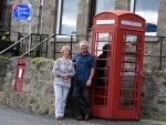 Anne Smith and Alex Smith, of Cothal Post Office near Dyce