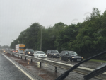 Flooding on the A90 at the AECC