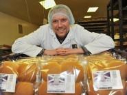 Murdoch Allan MD Paul Allan in the bakery at Hatton
