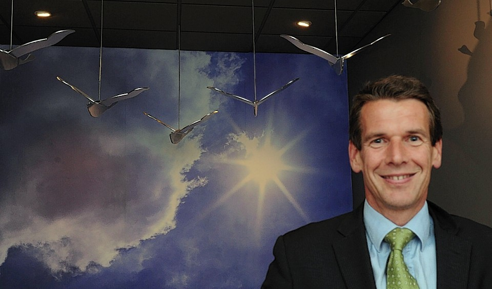 Brightsolid CEO Richard Higgs
