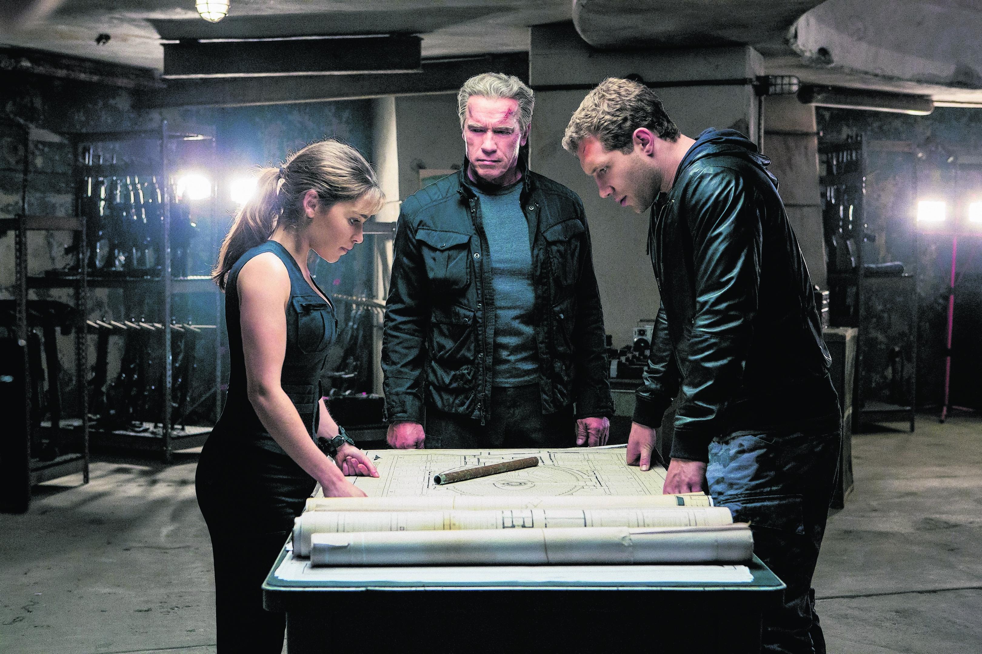 Terminator Genisys Sarah Connor Nackt Terminator Dark Fate Linda