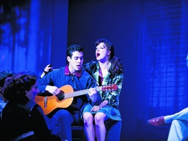 Antony and Verity on stage together