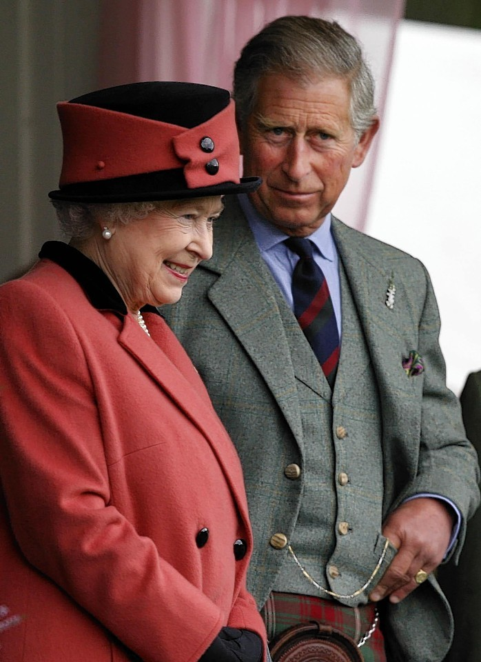The Queen and Prince Charles  have attended the Braemar Highland Games several times.