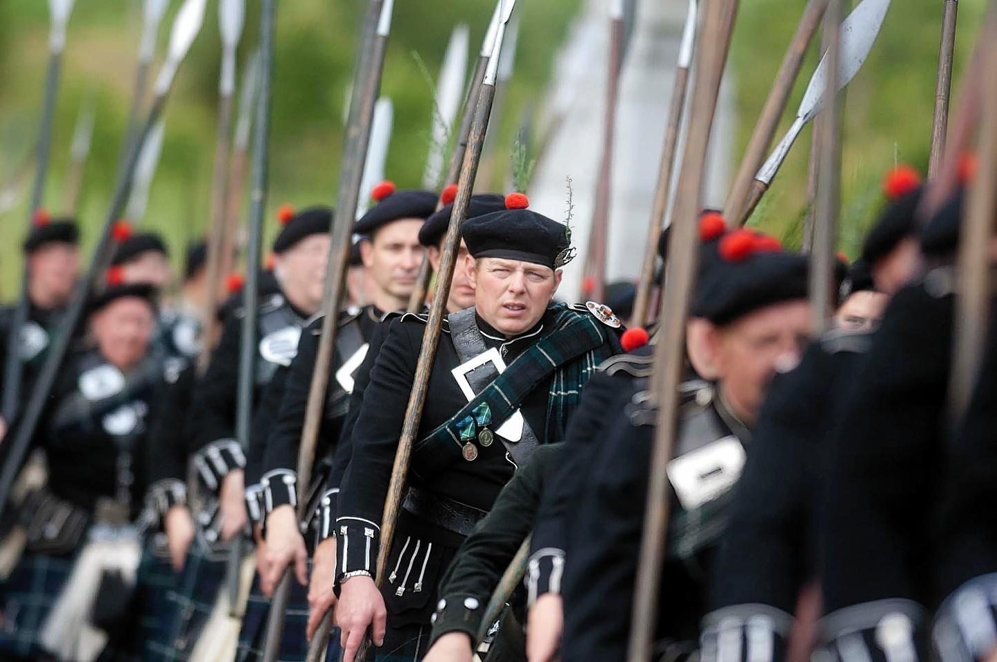 The Lonach Highlanders