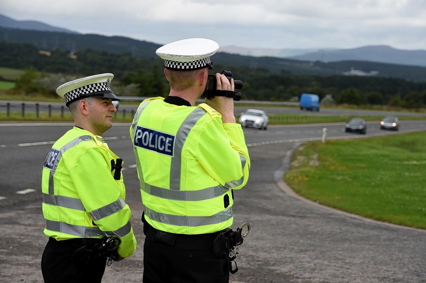 Police crackdown on speeders