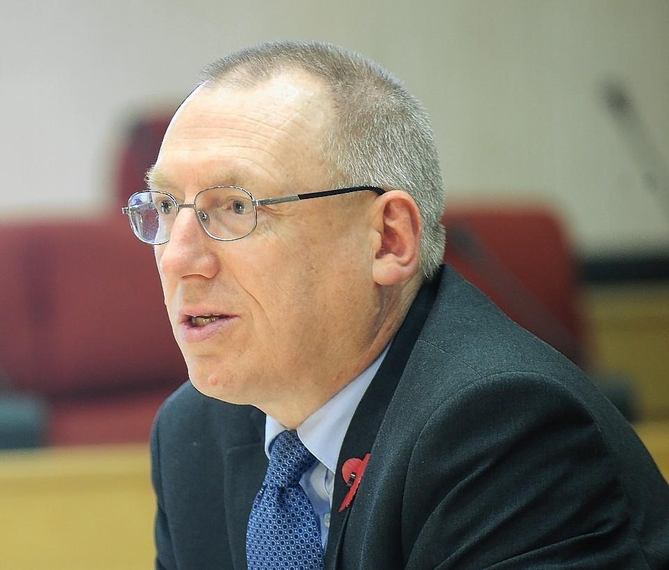 Highland Council's depute chief executive Derek Yule