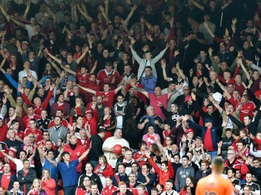 Dons fans voted best in Scotland by fellow supporters