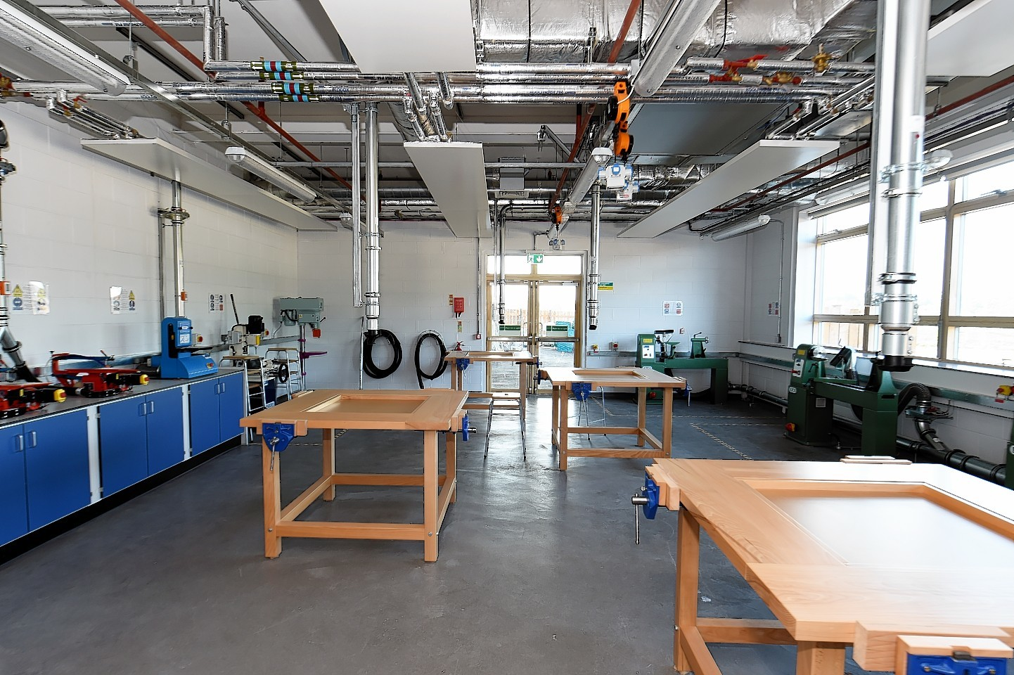Technical education facilities. Credit: Kevin Emslie.