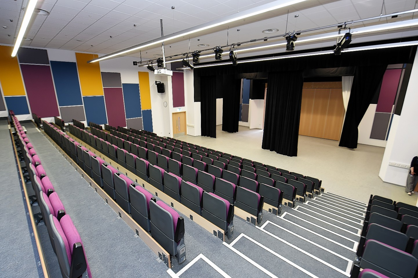 The theatre in the new Ellon Academy. Picture: Kevin Emslie.