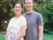 Mark Zuckerberg with wife Priscilla