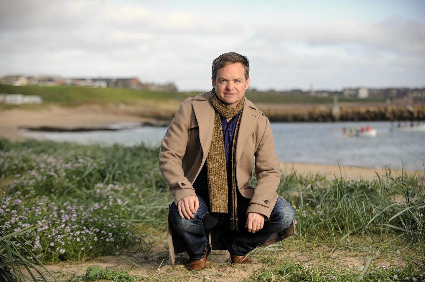 Jon Baird in Peterhead