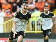 Aberdeen's Kenny Mclean celebrates his goal