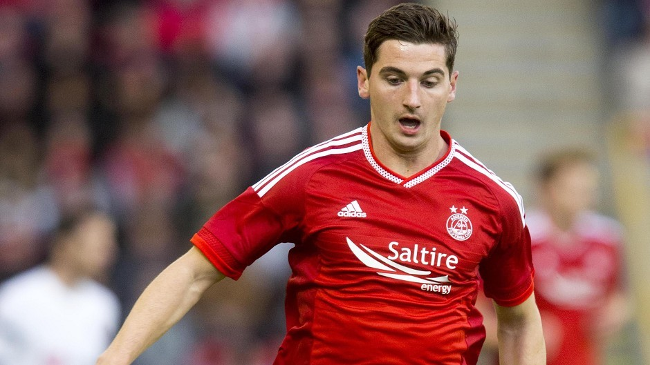 Kenny McLean scored Aberdeen's late winner against Viking FK.