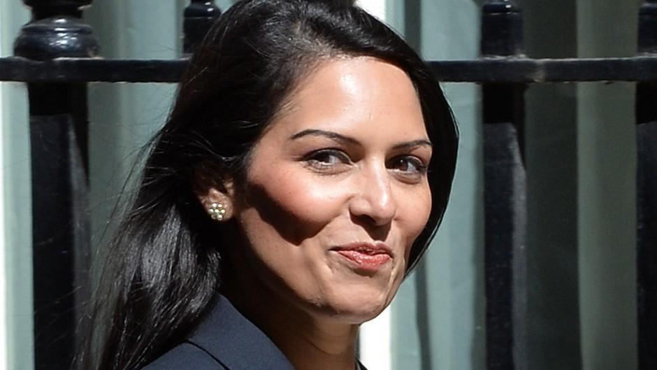 Employment Minister Priti Patel