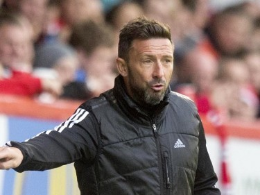 Aberdeen manager Derek McInnes felt his players rose to the occasion at Tannadice