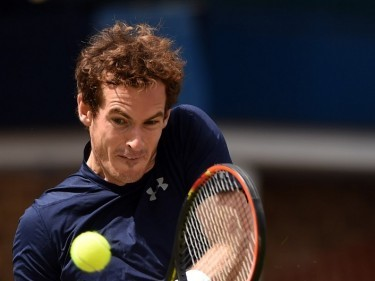 Andy Murray will start his bid to win the US Open on Monday