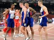 Great Britain's men's 4x100m relay team have come in for criticism following their latest high-profile mistake