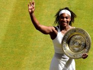 Wimbledon was Serena Williams' third grand slam success of the year