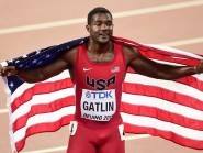 Justin Gatlin won two silver medals at the World Championships