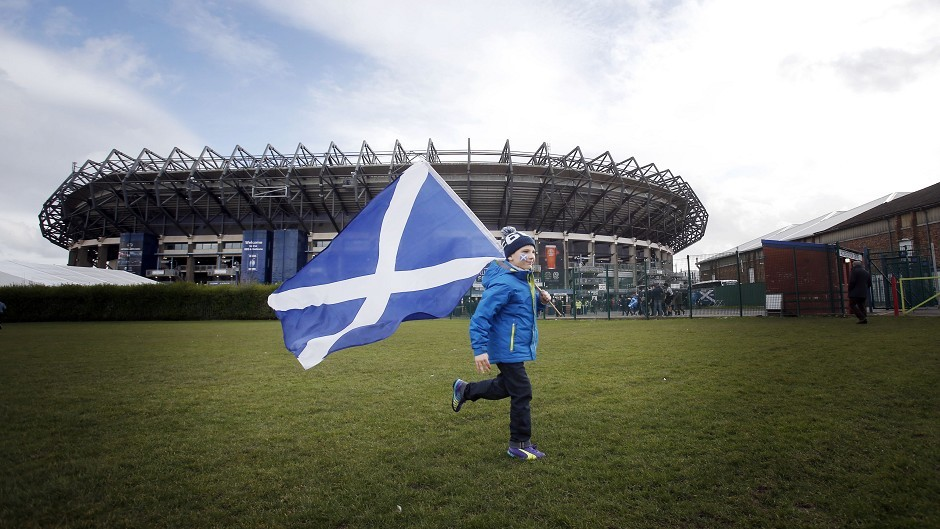 The Scottish Rugby Union's Murrayfield