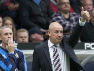 Rangers manager Mark Warburton, right, is full of praise for his players' attitude