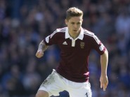 Sam Nicholson's goal ensured Hearts began the season on a winning note
