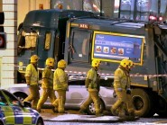 Six people dead in Glasgow last December when a bin lorry veered out of control