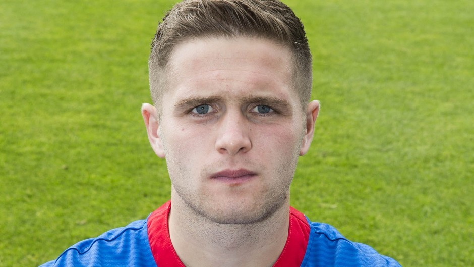 Danny Devine netted the second goal for the Caley Jags