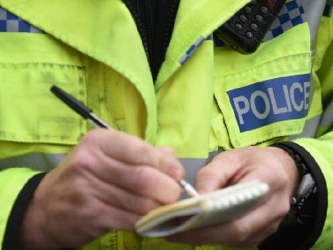 The Inverurie Road is currently blocked following a two-car crash