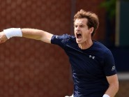 Andy Murray was made to work very hard for a quarter-final win in Cincinnati