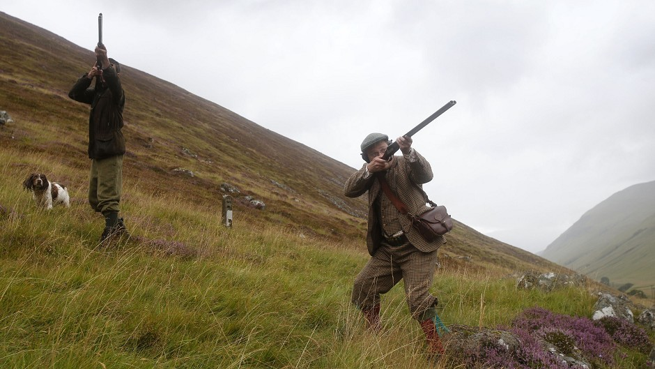 Grouse shooters on the Glorious Twelfth