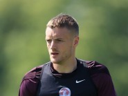 Jamie Vardy made his England debut in June's friendly against the Republic of Ireland.